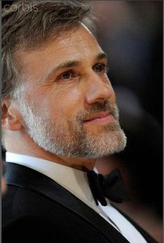 Christoph Waltz!! Only hot with the beard though. Without the beard, it's just not the same.