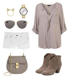 """Untitled #1036"" by majajevrem ❤ liked on Polyvore featuring rag & bone, Ash, Chloé, The Row, Aamaya by priyanka, CC SKYE and Nixon"