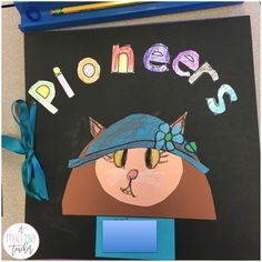 Five for Fraturday - A Teeny Tiny Teacher - creative kids: Kitty Pioneers cover