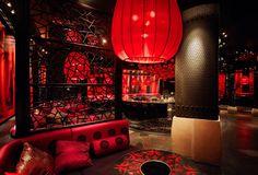 Dragonfly Nightclub, Niagara Falls. Interior design by Studio Munge.