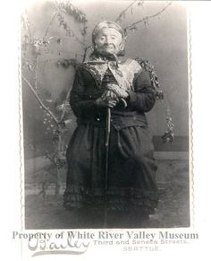 Princess Angeline was the daughter of Chief Sealth (Seattle). She died on May 31, 1896 at approx age of 75