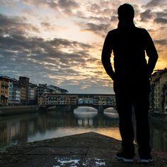 """""""L'alba di un nuovo Inizio"""" - Ponte Vecchio all'alba - Autoscatto"""