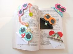 Réalisation d'un marque page - Conseils de mamans - DIY - Avis de mamans / Easy way to make you own bookmark !