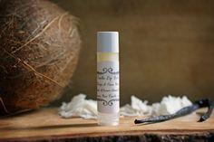 DIY Coconut Oil Vanilla Lip Balm | The Radiant Life Blog