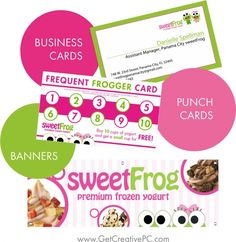 Small Business Spotlight - Sweet Frog of Panama City, FL - Creative Printing of Bay County