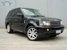2007 Land Rover Range Rover Sport L320 TDV6 07MY Sports Automatic
