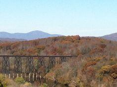 James River Trestle Bridge, Lynchburg, VA