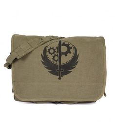 The Bethesda Store - Brotherhood of Steel Messenger Bag - Fallout - Brands