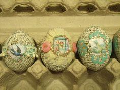 Pollyanna Reinvents: Festive Decorated Eggs!
