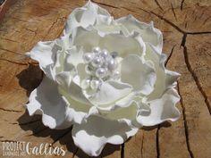 ProjectGallias: #projectgallias wedding flower hairpin, wedding accessories, ślub, dekoracja do włosów, spinka 100% handmade
