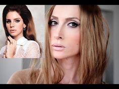 """Lana Del Rey Makyajı """"Lana Del Rey Make-up"""" - YouTube"""