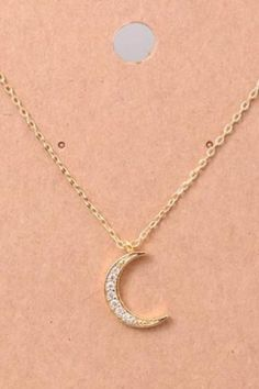 Love Beyond The Moon & Stars Silver Necklace The Fashion Bible ZBXjw