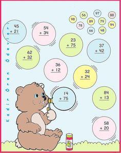 ilkokul ödevleri: 2. sınıf toplama işlemi: