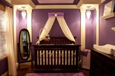 Beautiful baby girl nursery!