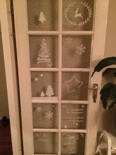 Raamdecoratie kerst