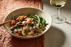 Author, chef and former restaurateur Alexander Smalls created a luscious boozy cream sauce for this dish, which calls for marinating the quail in a mixture of pineapple juice, citrus and spice.