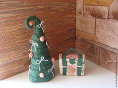 Новогодняя елочка из салфеток - Ярмарка Мастеров - ручная работа, handmade