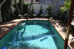 Enjoy pool access just outside your door!