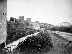 Porta Metronia con Annessa marana anno 1870