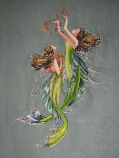 Mermaids ~ Mirabilia Cross Stitch
