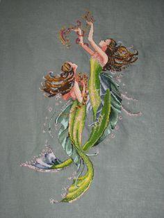 Mermaids ~ Mirabilia Cross Stitch