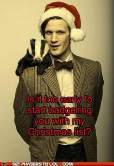 Hahaha... Bad puns made even better by the Doctor!