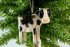 david frykman cow ornament