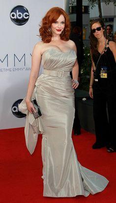 Emmy Awards 2012 Red Carpet Fashion