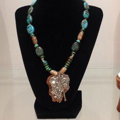 Necklace #2 - William Derrevere - $180.00