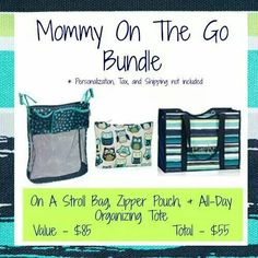 """Thirty One Gifts September 2014 Bundle - Special All Day Tote just $15  www.mythirtyone.com/lizaknopp  Join my facebook group for ALL your Thirty-one updates, """"31 with Liza Knopp"""""""