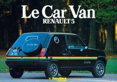 Renault 5 Le Car Van - 1980