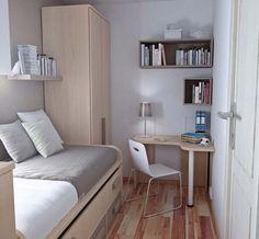 85 Desain Kamar Tidur kecil Sederhana - Mendesain kamar tidur kecil karena tidak memiliki ruang kosong yang luas menjadi hal yang perlu pemikiran dan renca