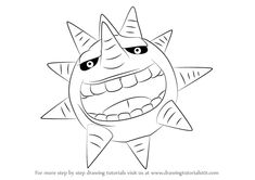 Learn How to Draw Sun from Soul Eater (Soul Eater) Step by Step : Drawing Tutorials
