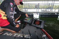 Bassmaster Elite Series professional angler and 4-time Bassmaster Classic Champion Kevin VanDam. Photo copyright Brad Wiegmann Outdoors. http://www.bradwiegmann.com/bass-professionals/bass-professionals/1167-santas-sleigh-doesnt-compare-to-kevin-vandams-nitro.html