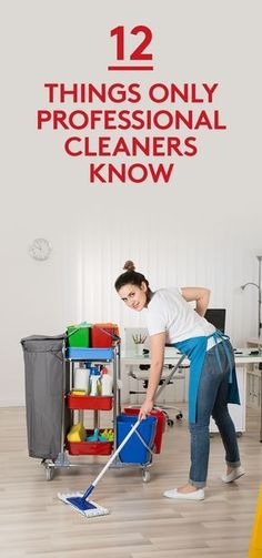 '12 Things Only Professional Cleaners Know...!' (via Real Simple)