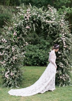 The most gorgeous wedding arch ever!