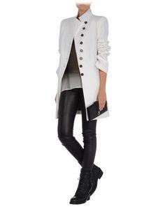 Ann Demeulemeester Mid Length Jacket - Ann Demeulemeester Coats Jackets Women - thecorner.com