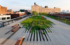 diller scofidio renfro landscape architects / high line park, nyc