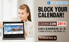 The most practical coding conference you'll ever attend is here!  Pre-Book Now!  #CodingCon2015  #MedicalConference #Orlando