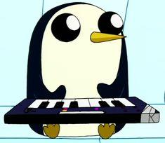 Adventure Time w Gunter.
