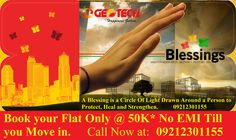 Geotech Blessings is located at the best location of Noida Extension.