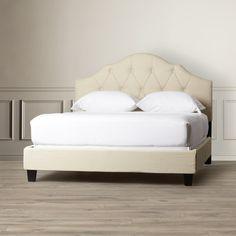 Arlene Upholstered Bed | Joss & Main