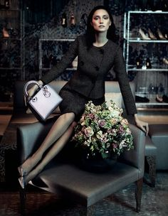 Fusion Models NYC: Anna Schilling by Damien Foxe for the Financial Times