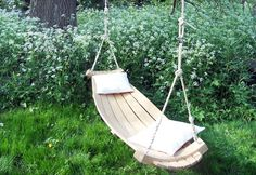 Beautiful Steam-Bent Hertfordshire Hammocks are Made From Sustainably Sourced Wood