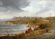 Tynemouth fro Cullercoats by John Carmichael