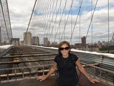 Puente de Brooklyn. Vista hacia Manhattan