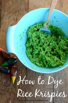 Diy Sweet Treats Incredible Hulk Rice Krispie Treats