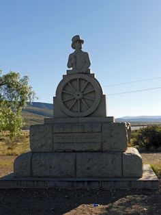 Andries Pretorius monument - About 2 km outside Graaff-Reinet on the towards Middelburg, Eastern Cape, South Africa. I Am An African, African States, Monuments, Statue Of Liberty, South Africa, Roots, In This Moment, Memories, Vacation