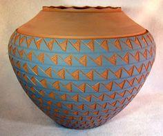 Ceramic Tattoo Art: Mata Ortiz Pottery and Maria Martinez Pottery - Aztec Pottery