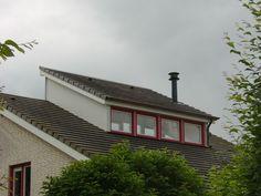 Aan- en Verbouw - Dakkapellen Dormer Roof, Shed Dormer, Dormer Windows, Attic Loft, Attic Rooms, House Roof, Pent House, Cabana, Bungalow Extensions